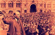 Lenin werd door het volk gezien als een soort god die alles het beste wist voor iedereen