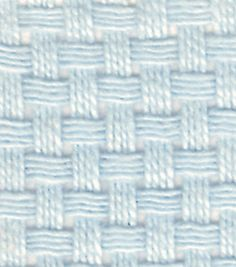 Monk's Cloth Aida 7 Count 60'' Wide 10 Yards-Pastel Blue-10/pk