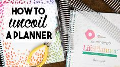 Video: How to Uncoil a Planner
