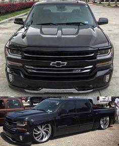 4 Door Trucks, Suv Trucks, Pickup Trucks, Dropped Trucks, Lowered Trucks, Charger Srt Hellcat, Custom Chevy Trucks, Professional Football, Chevy Silverado
