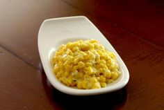 How To Make Fresh, Fabulous Cream Style Corn: Fresh Cream-Style Corn