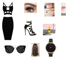 """Untitled #4"" by namah2002 on Polyvore featuring Jimmy Choo, Iceberg, Quay and Olivia Burton"