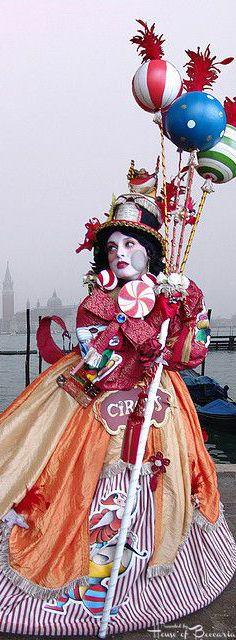 ~Circus Costume, Venezia Carnavale 2008 by Batistini Gaston | House of Beccaria#