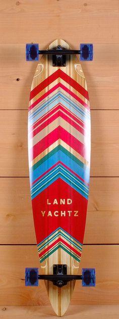 "Landyachtz 44"" Prebuilt V-Lam Bamboo Pinner Longboard"