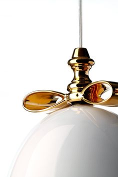 Bell Lamp Golden Bow