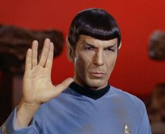 """Leonard Nimory of Star Trek """"Dr.Spock"""" #spock"""
