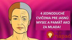 ako omladiť mozog a zlepšiť si pamäť! Anti Aging, Hair Beauty, Good Things, Memes, Health, How To Make, Life, Feng Shui, Health Care
