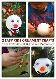 easy christmas crafts for kids to make - Sök på Google