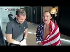 Backstage With Michael Chandler | UFC 257 Quick Hits - YouTube