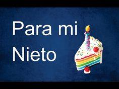 Frases de cumpleaños para mi Nieto - YouTube Margarita, Birthday Candles, Happy Birthday, Baby Shower, Youtube, Quotes, Facebook, Happy Brithday, Amor