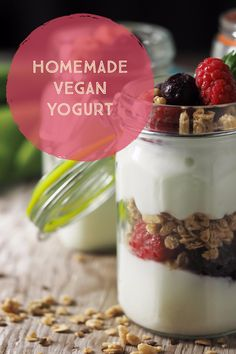 If you don't do dairy, sugar, artificial colors, flavors and preservatives, you don't do store-bought yogurt. Try this homemade vegan yogurt recipe for a healthy alternative!
