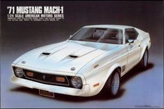 ARII - 1/24 Scale '71 Mustang Mach-1