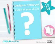 Design a Notebook, handmade stationery by aabecreative on Etsy