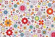 Skopy (dessin) - tissu, 100% coton, impression de toutes les couleurs : Tissus pour Loisirs créatifs par tissusactifs