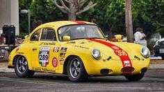 """Porsche 356A """"La Carrera Panamericana"""""""