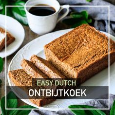 This Dutch spice cake, called ontbijtkoek, might be your family's new favorite dessert! Have a taste of Holland with this rye loaf cake that tastes like gingerbread. This recipe is quick and easy to make. Tin Loaf, Sweet Spice, Cake Recipes From Scratch, Honey Cake, Dutch Recipes, Loaf Cake, Spice Cake, Food Facts, Homemade Cakes