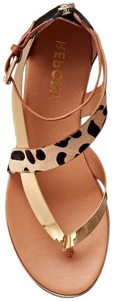 Love! <3 Leopard Sandals