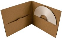 brown paper cd cover