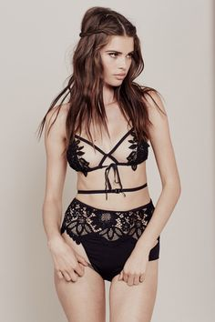 077577d1aa14d SKIVVIES – For Love   Lemons Black Lace Bralette