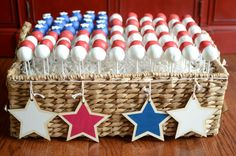 American Flag Cake P
