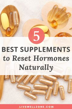 There are lots of choices when it comes to supplements for women's hormones. This post covers how to reset your hormones, best supplements for hormone imbalance, herbs for female hormone balance, hormone balancing supplements, supplements for hormone bala Équilibrer Les Hormones, Foods To Balance Hormones, Balance Hormones Naturally, Female Hormones, Hormone Supplements, Supplements For Women, Natural Supplements, Best Supplements For Health, Menopause Supplements