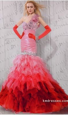 unique sparkling beaded one shoulder drop waist tiered layered mermaid dress.prom dresses,formal dresses,ball gown,homecoming dresses,party dress,evening dresses,sequin dresses,cocktail dresses,graduation dresses,formal gowns,prom gown,evening gown
