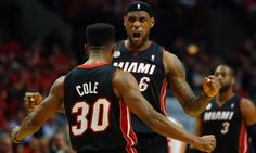nba 2013 championship playoff game 3 images   Miami Heat claim NBA playoff series lead with win at Chicago Bulls ...