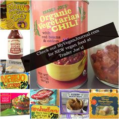 There's a lot of new VEGAN food at Trader Joe's! It's SO easy to be vegan! #MyVeganJournal