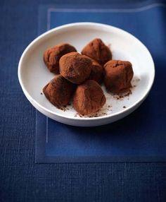 Truffes au chocolat et aux 4 épices