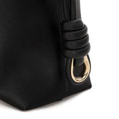 Loewe Flamenco - FLAMENCO KNOT SMALL BAG LIMITED EDITION Black/black