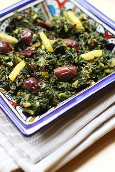 Moroccan Spinach Salad (and Fez Cooking Class) post image