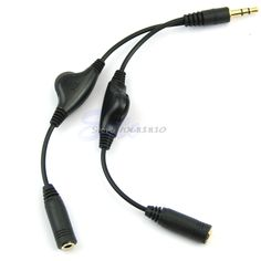 1m Nylon Aux Cable 3.5mm to 3.5 mm Male to Male Jack Auto Car Audio ...