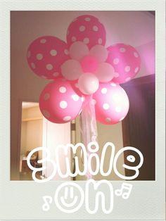 giant helium filled balloon flower!