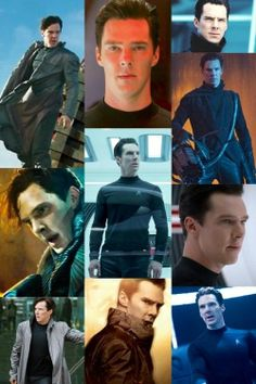 Benedict Cumberbatch screenshots from 'Star Trek: Into Darkness'.