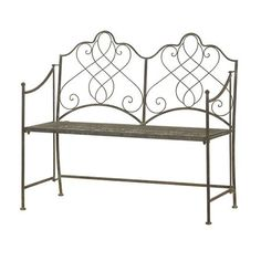 ACHICA | Camelot Antique Folding Bench