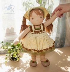 вальдорфская кукла Лёлечка