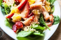 Spinach, Strawberry & Quinoa Salad