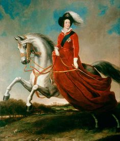 'Queen Victoria on horseback', Alfred d'Orsay, c. Ministry of Defence Art Collection, Acc. (Sourced via BBC Your Paintings)