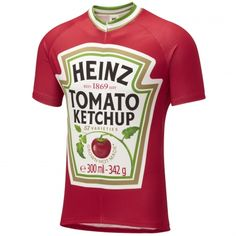 After a few long hours in the saddle what better way to revive yourself than with a large bacon butty topped off with Britain's favourite sauce. Heinz Tomato Ketchup, the perfect condiment to your bike.