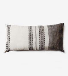 Hand Woven Striped Lumbar Pillow Cover by ICHCHA on Scoutmob Shoppe