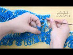 Como unir pala e corpo no crochê de grampo - Helen Mareth - YouTube
