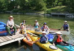 Paddle in the park! You've got plenty of options, including Lake Michigan, the Platte River, the Crystal River, and over twenty inland lakes to choose from at Sleeping Bear Dunes!