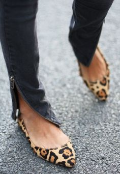 Leopard flats - eye catching