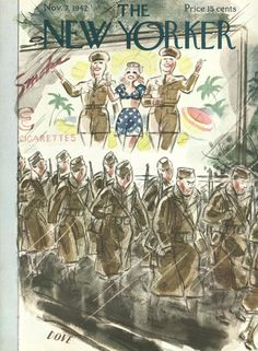 The New Yorker - Saturday, November 7, 1942 - Issue # 925 - Vol. 18 - N° 38 - Cover by : Leonard Dove