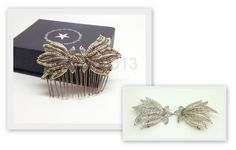 Love this custom made hair comb! Vintage elegance x