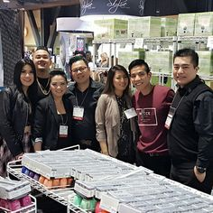 Team AII with team Nail Poetry  at the 2017 ISSE Long Beach, 01/2017.