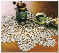 centrino rotondo | Hobby lavori femminili - ricamo - uncinetto - maglia