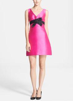 pink Kate Spade a-line dress.