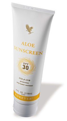 With an SPF of 30, Aloe Sunscreen blocks both UVA and UVB rays, while this silky, smooth lotion made with pure stabilized Aloe Vera Gel, rich moisturizers and humectants, maintains the skin's natural moisture balance.