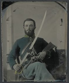 Un soldat de l'Union inconnu (1862-1863, Library of Congress, Washington D.C.)